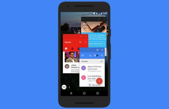 In 8 stappen de freeform-modus van Android 7.0 activeren