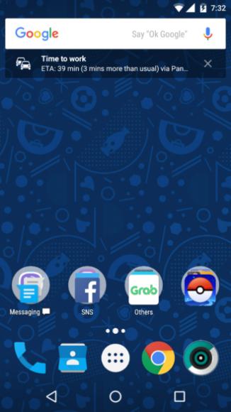 Google-zoekbalk widget