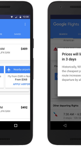 Google Flights-update