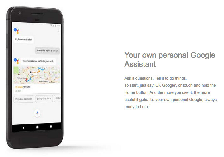 Google Pixel details