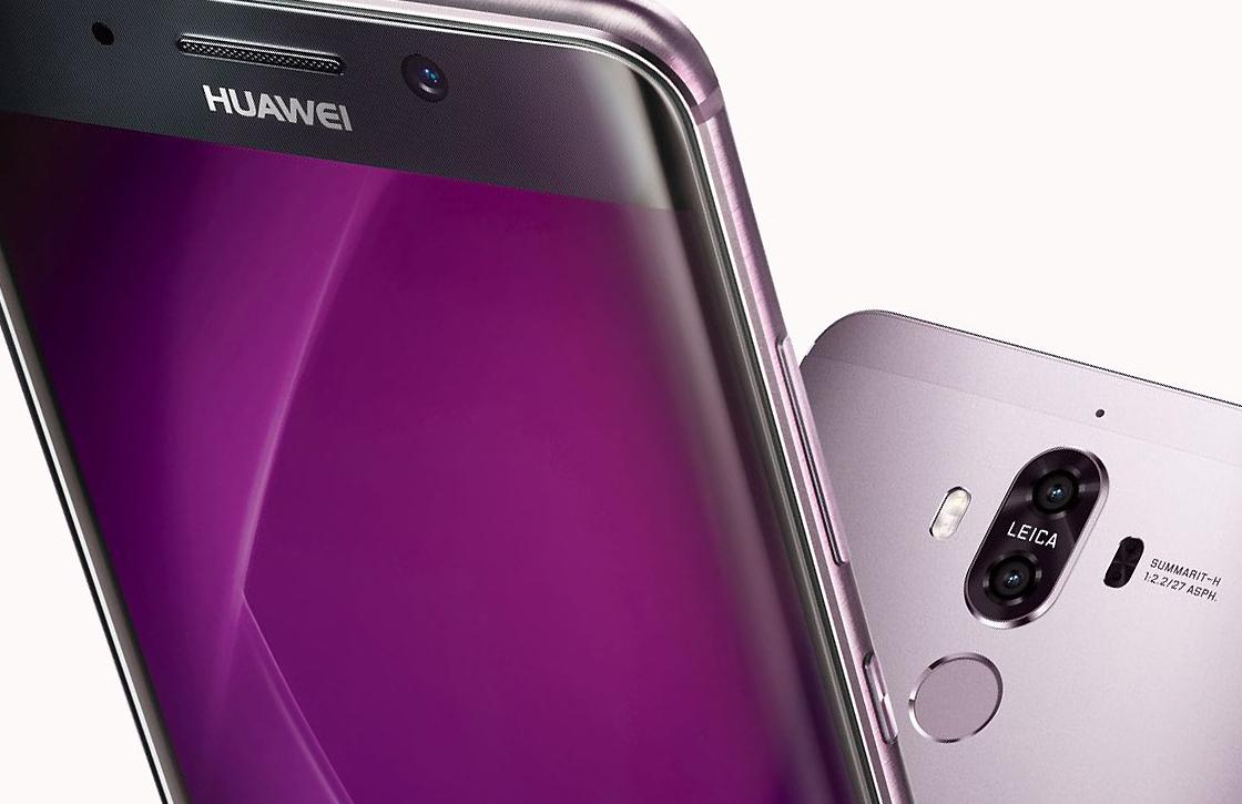 Zo ziet de Huawei Mate 10 met voorkantvullend scherm er uit