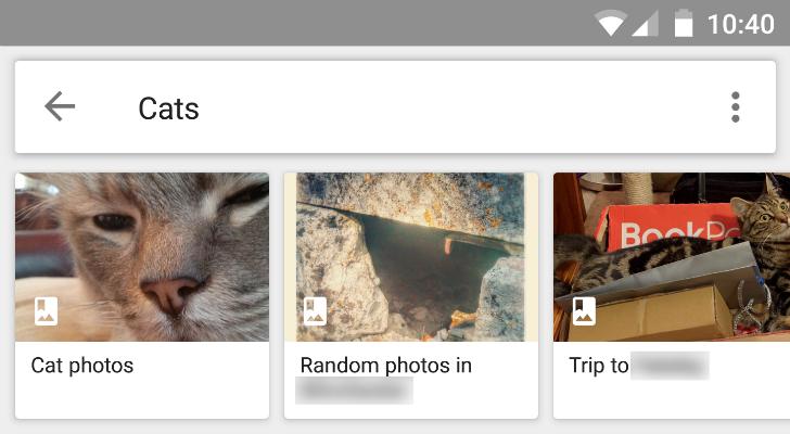 google foto's zoeken