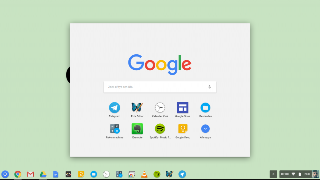 lofzang chrome os