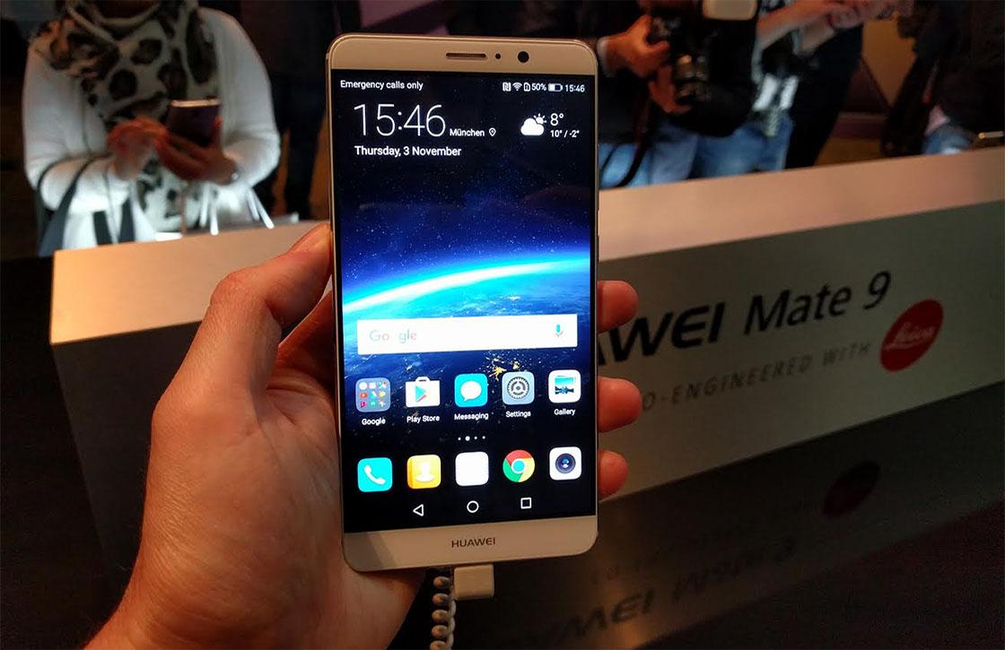 Preview: onze eerste indruk van de Huawei Mate 9