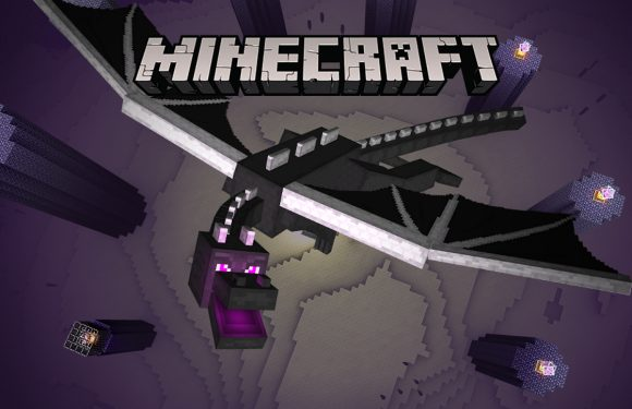 Versla The Ender Dragon in de Minecraft: Pocket Edition-bèta