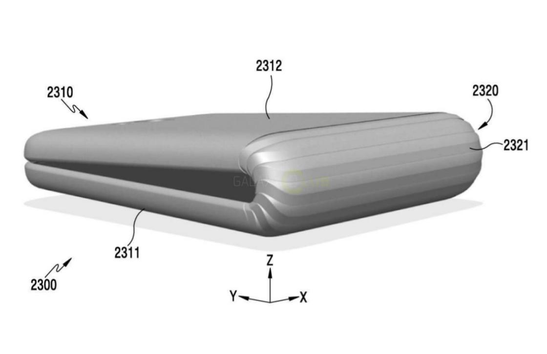 'Patent toont nieuwste versie van Samsungs opvouwbare smartphone'
