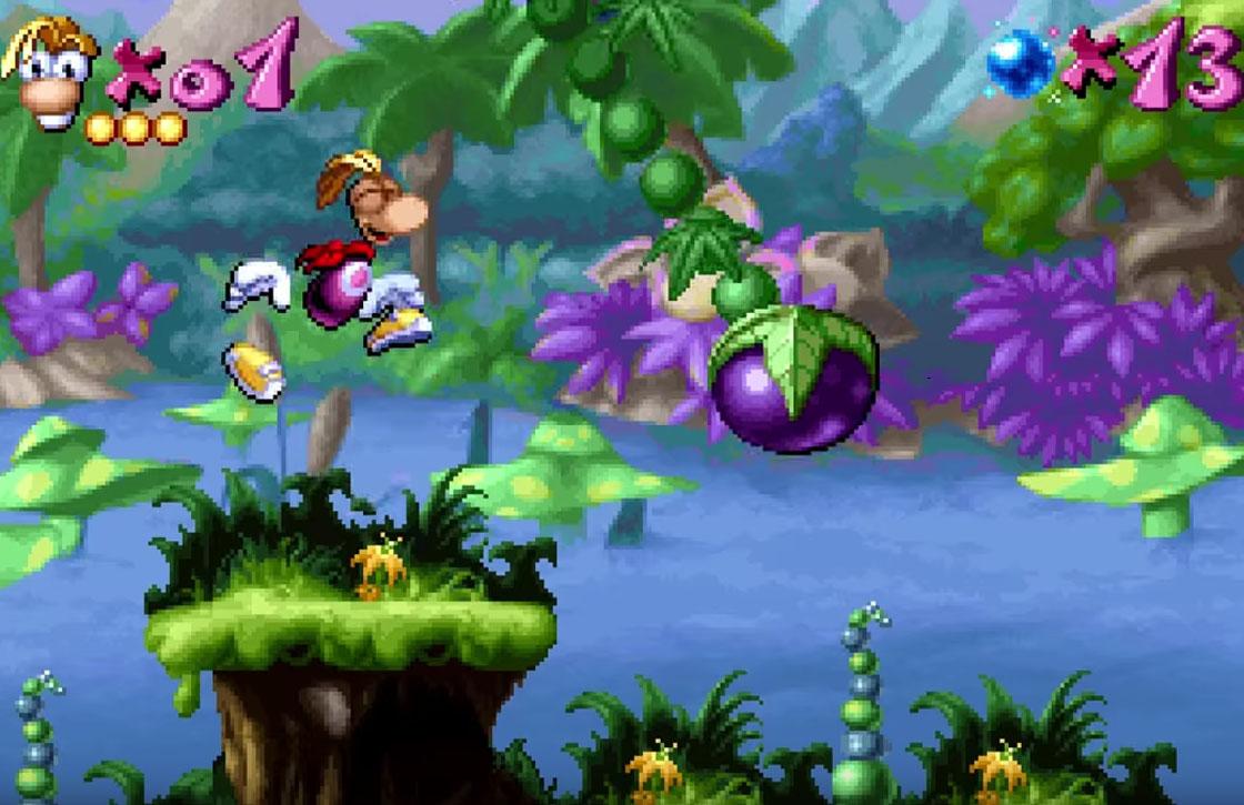 Gameklassieker Rayman Classic is vandaag gratis voor Android