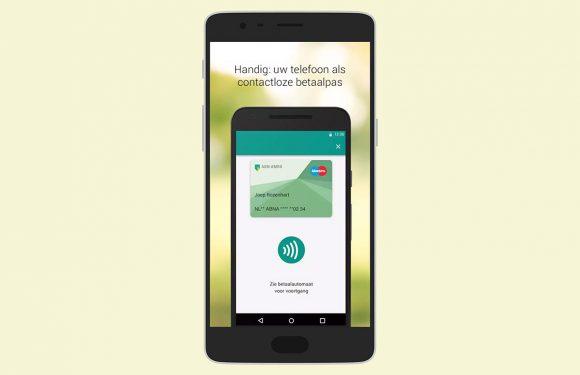 Met ABN Amro Wallet kun je contactloos betalen met je Android-smartphone