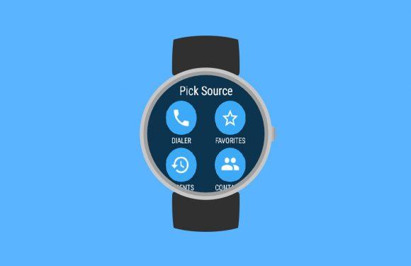 Wear Dialer laat je snel en simpel bellen vanaf je smartwatch