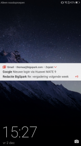 Huawei Mate 9 review screenshot