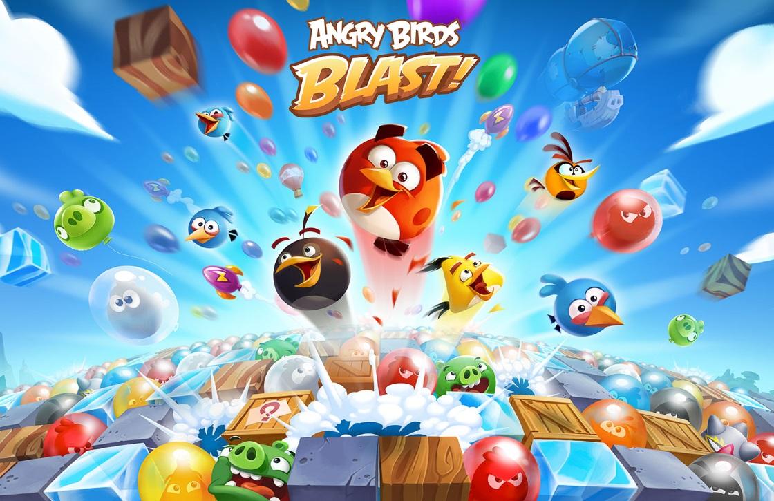 Tip voor de feestdagen: puzzelen met Angry Birds Blast