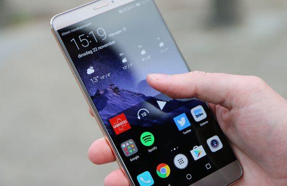 Huawei Mate 10-scherm