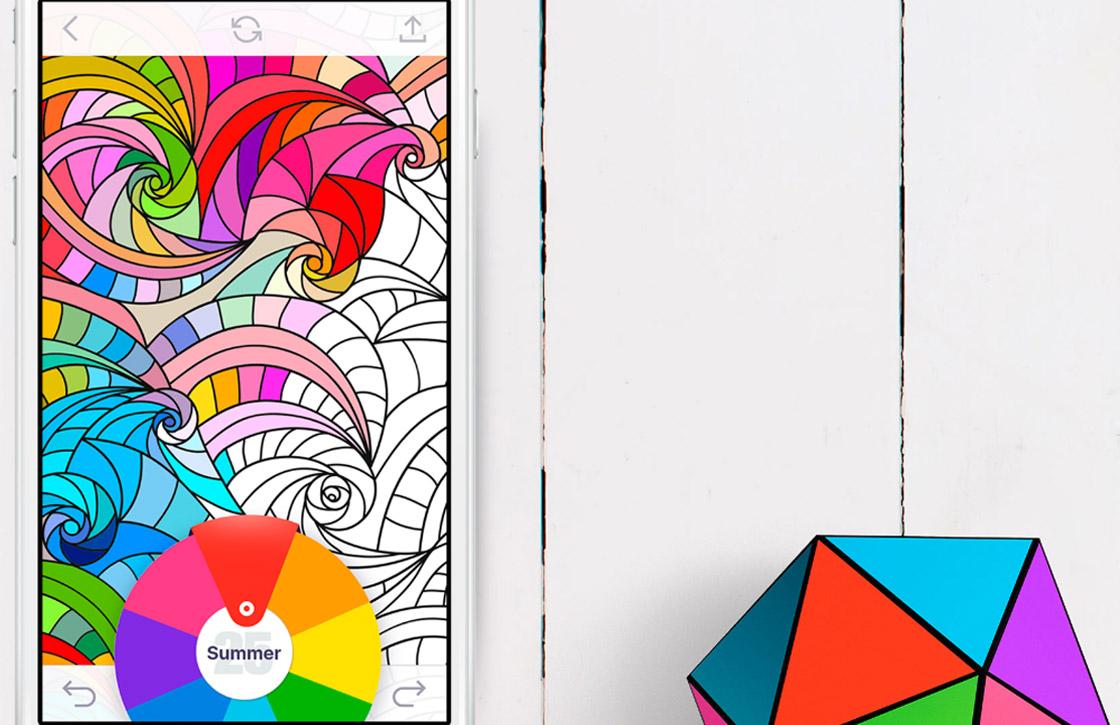 Kom tot rust met deze kleurboeken-app voor Android