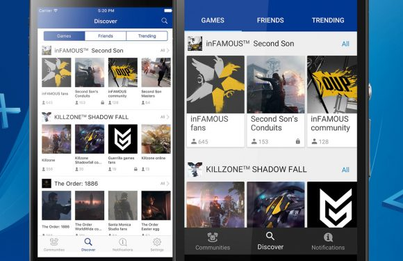 Derde PlayStation-app voor Android draait om communities