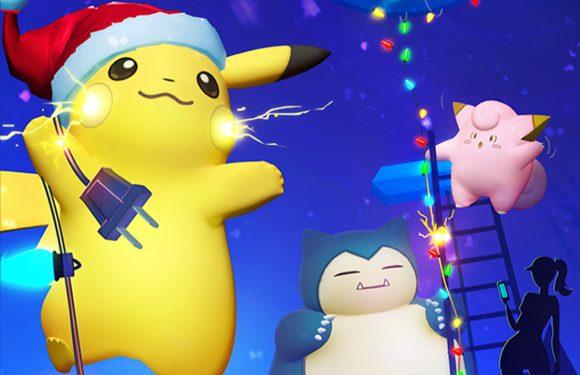 Eerste nieuwe Pokémon komen uit eieren, Pikachu krijgt kerstmuts