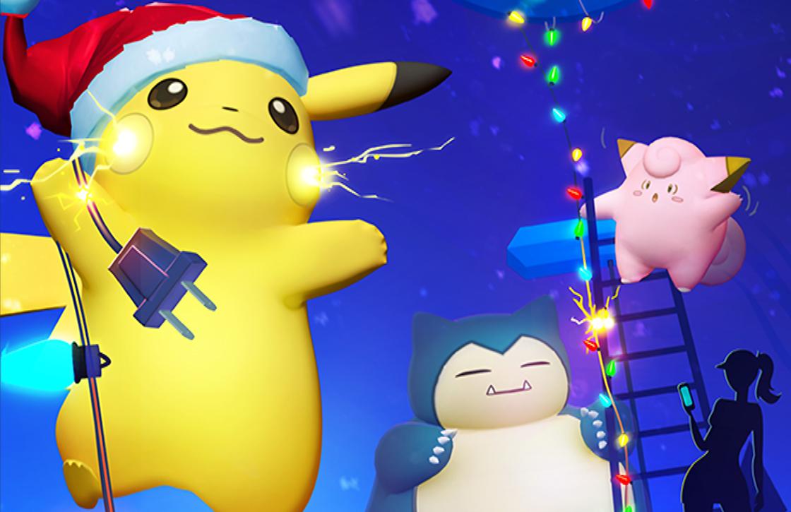 Deze bonussen krijg je in Pokémon GO tijdens de feestdagen