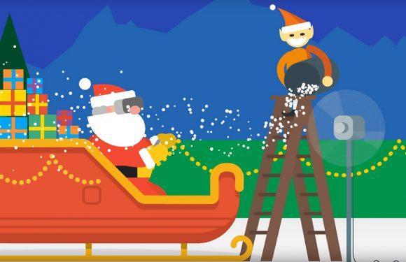 Wacht op de kerstman met de Google Santa Tracker