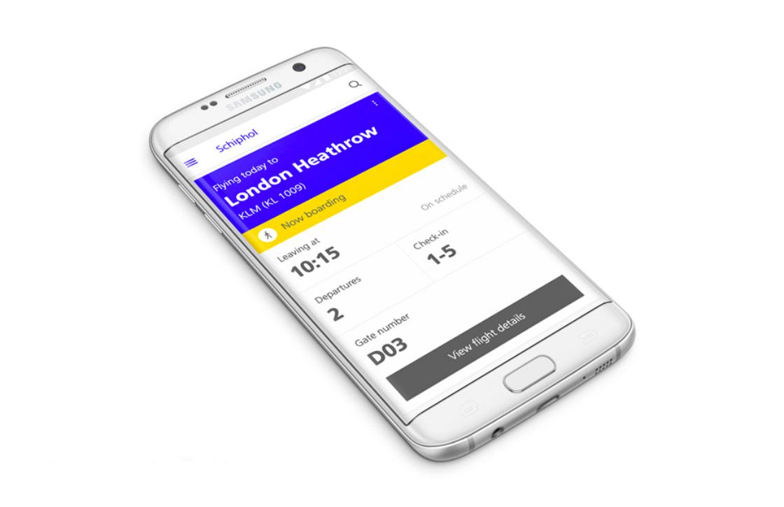 Vernieuwde Schiphol-app zet overzichtelijkheid voorop