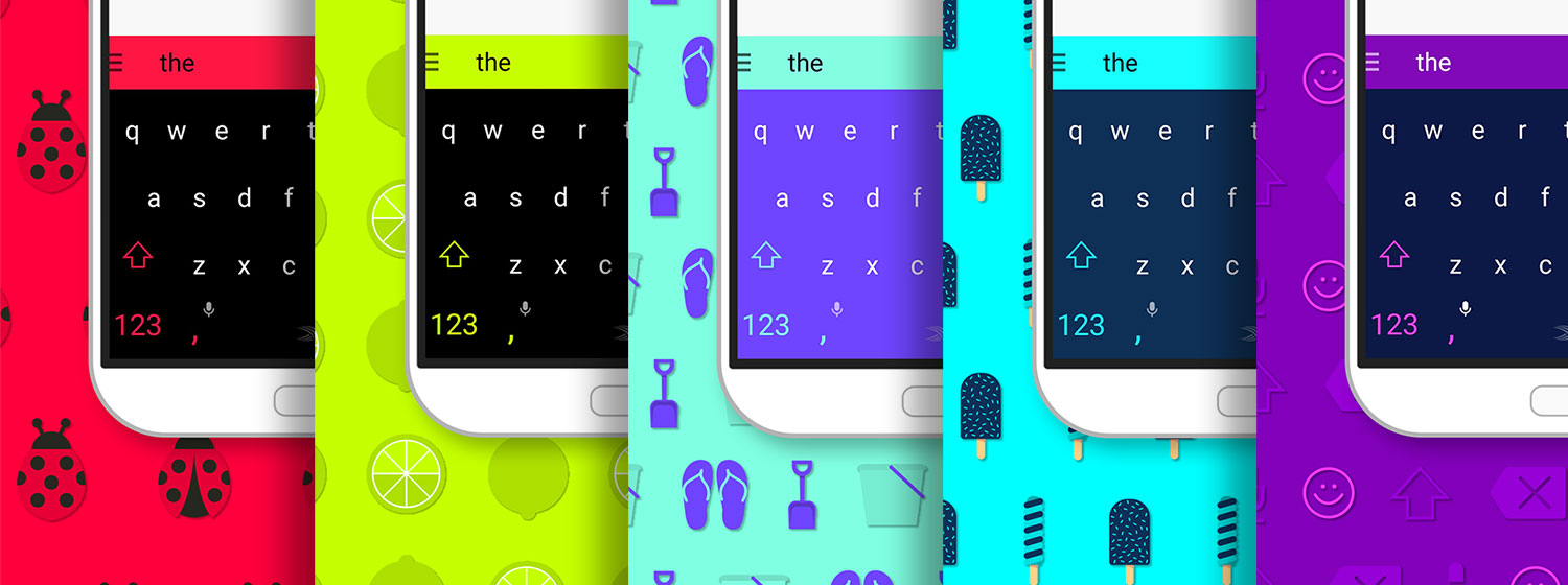 swiftkey thema's gratis