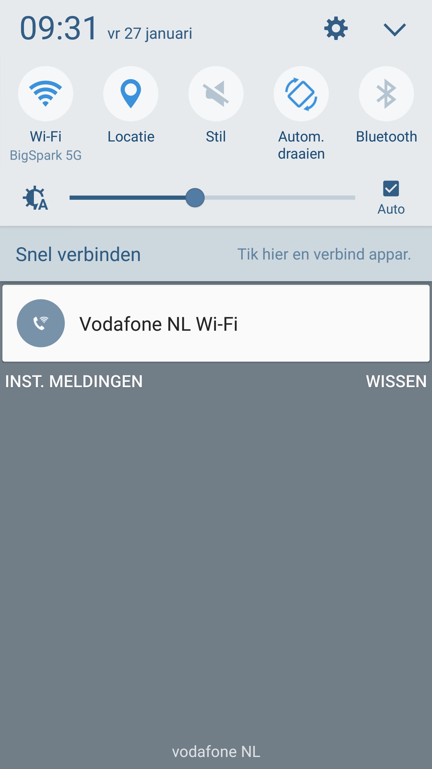 Bellen via wifi