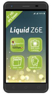 Acer Liquid Z6E officieel