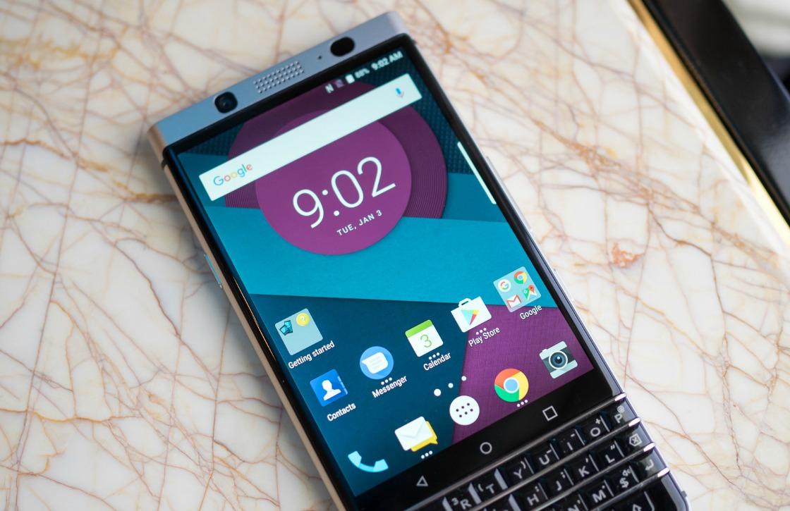 Dit is BlackBerry's nieuwe Android-smartphone met fysiek toetsenbord