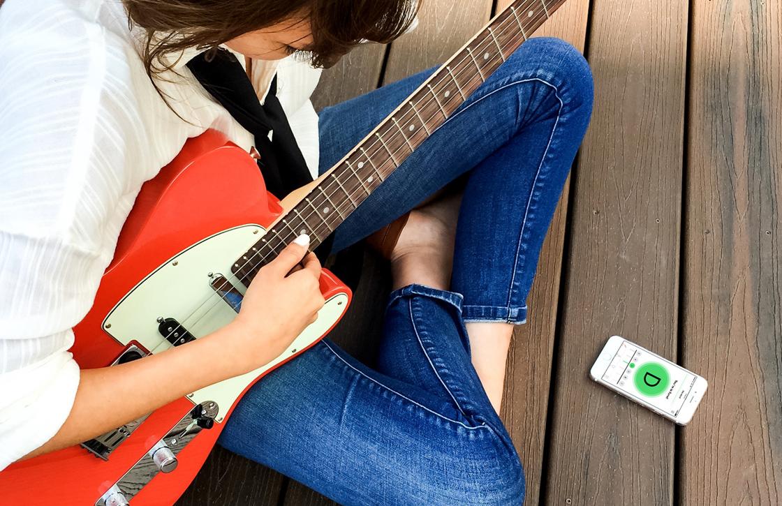 Stem je gitaar met de eerste Android-app van Fender