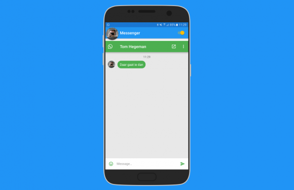 Zo reageer je op berichten vanuit iedere app met Flychat
