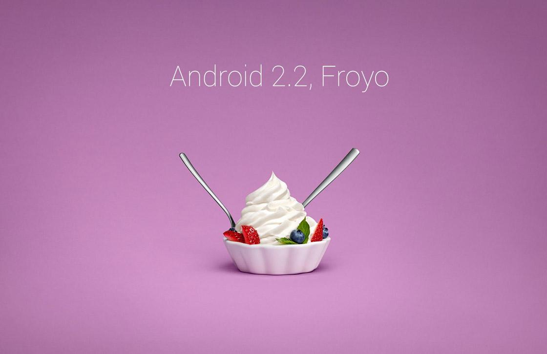 Froyo verdwijnt eindelijk uit de Android-distributiecijfers