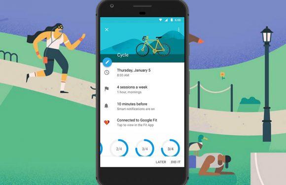 Google Agenda werkt nu samen met Google Fit