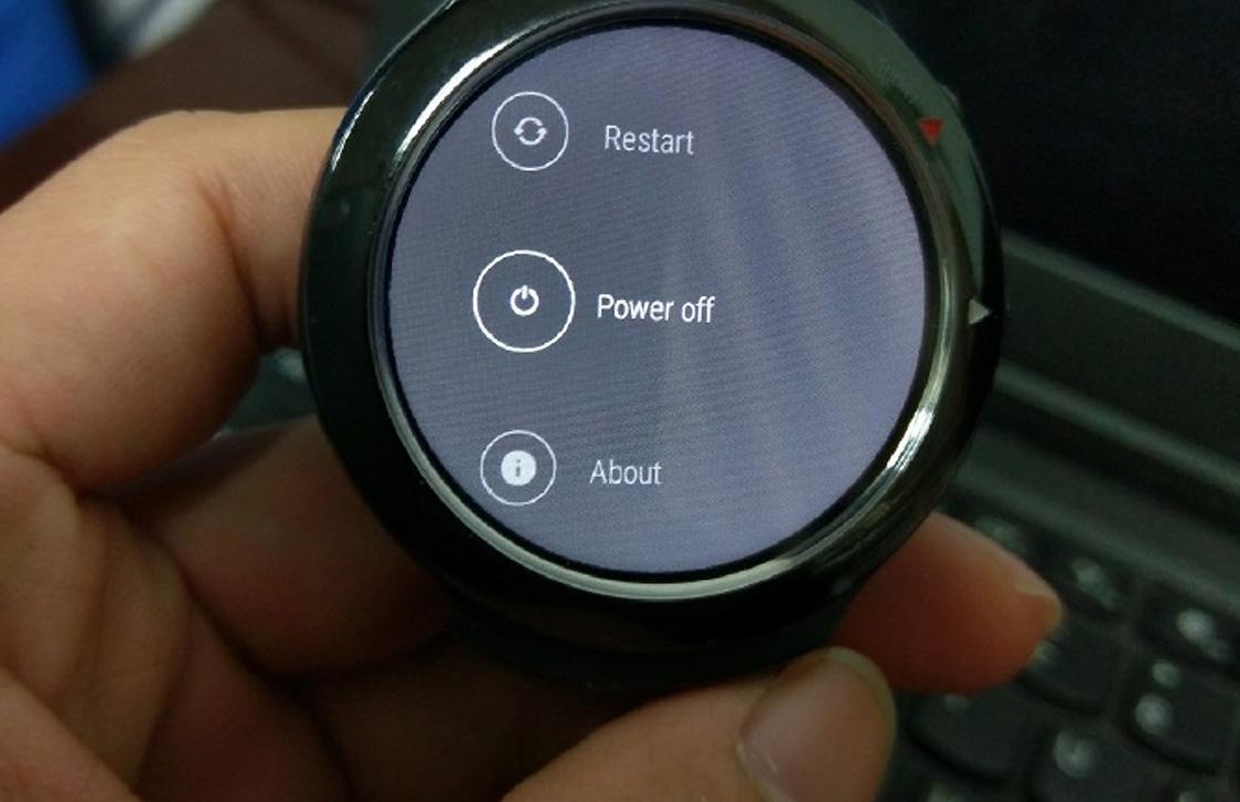 'Gelekte foto's tonen Android Wear-smartwatch van HTC'