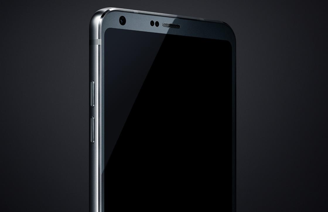 Dit is de LG G6: voorkantvullend scherm met minimale randen