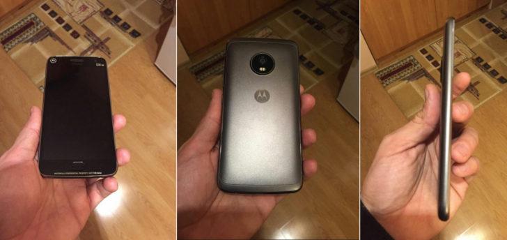 Moto G5 Plus foto's