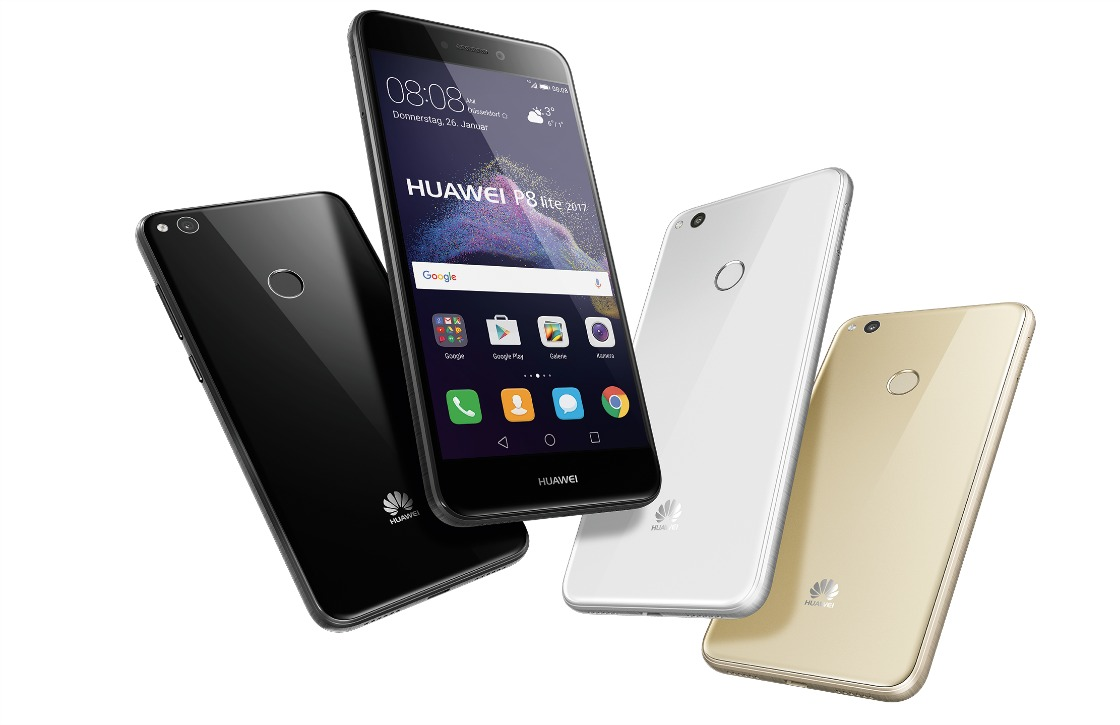 Huawei onthult P8 Lite (2017) met Android 7.0