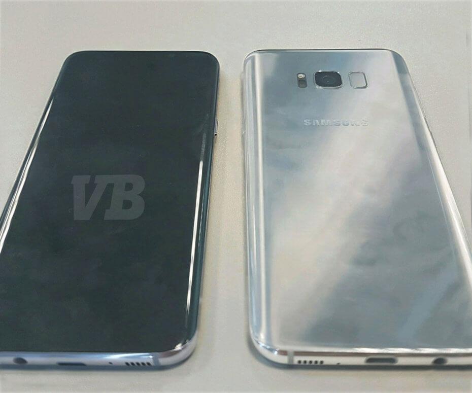 Samsung Galaxy S8 foto