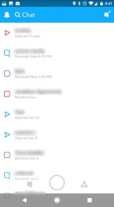 Snapchat 10-update