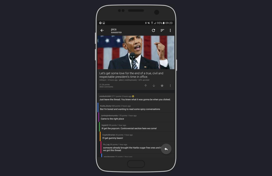 Sync for Reddit biedt balans tussen eenvoud en opties