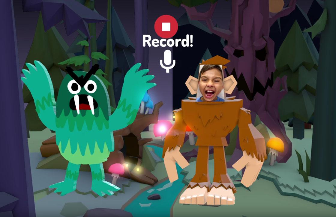 Toontastic 3D is Googles virtuele poppenkast voor je kinderen