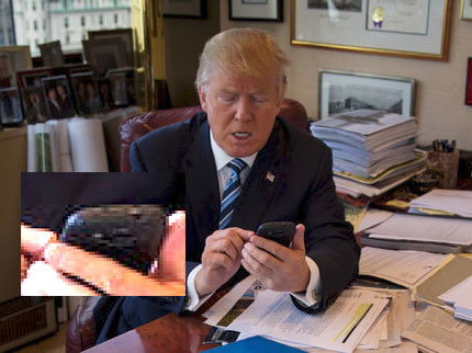 Trump Android-smartphone