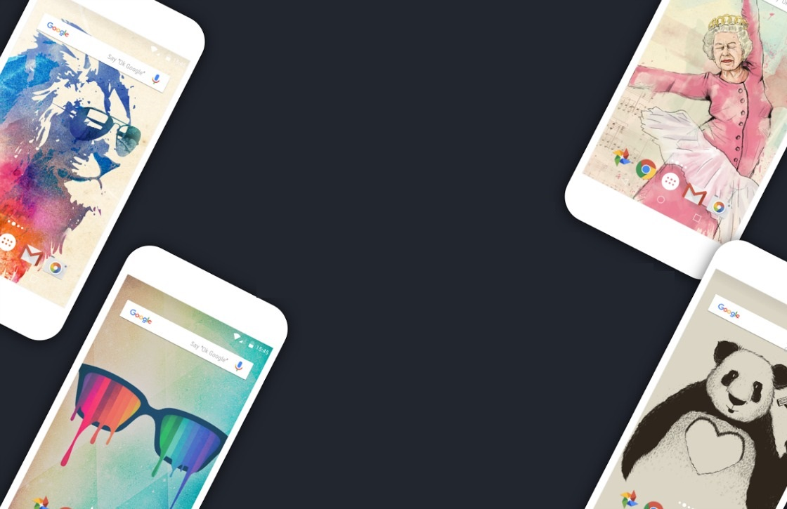 Met Walli ontdek je duizenden nieuwe achtergronden voor je Android