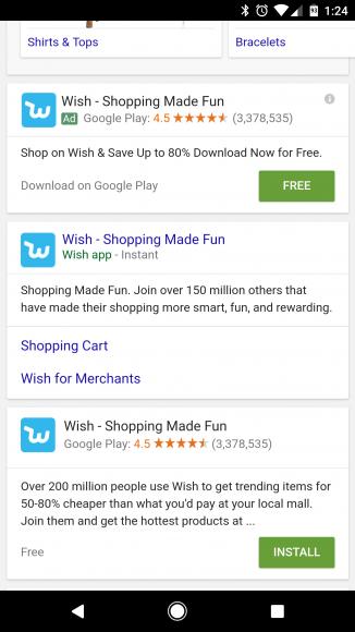 Android Instant Apps aanzetten