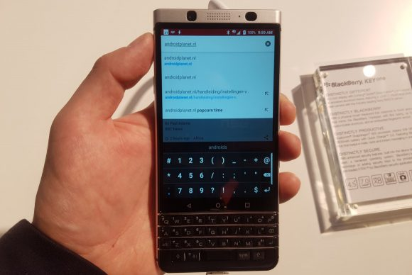 BlackBerry KeyOne preview