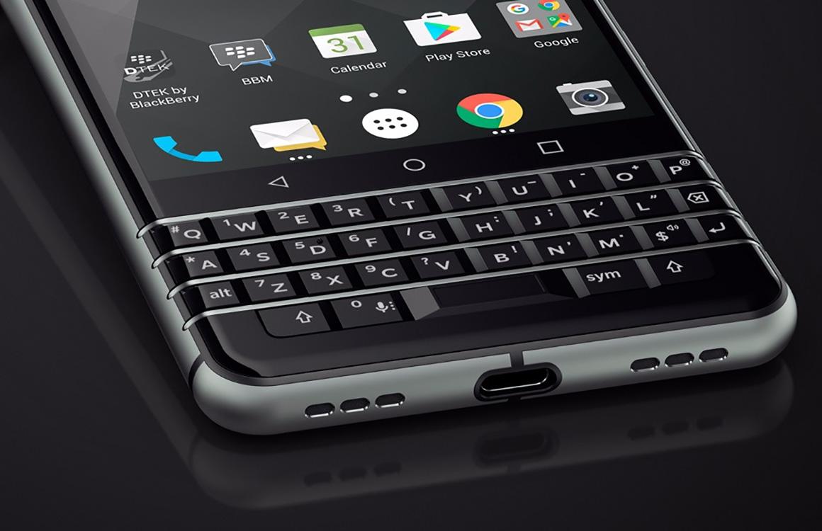 BlackBerry KeyOne officieel: Android-smartphone met fysiek toetsenbord