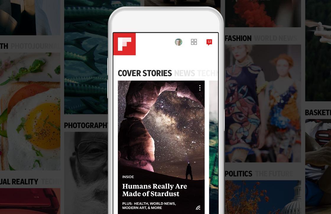 Flipboard 4.0-update maakt nieuwsoverzicht persoonlijker met 'Smart Magazine'
