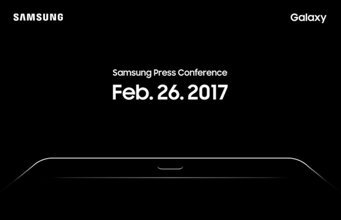 Samsung geeft teaser Galaxy Tab S3 aankondiging vrij