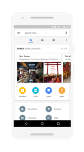 Google Maps-suggesties