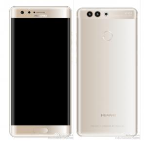 Huawei P10 Plus irisscanner