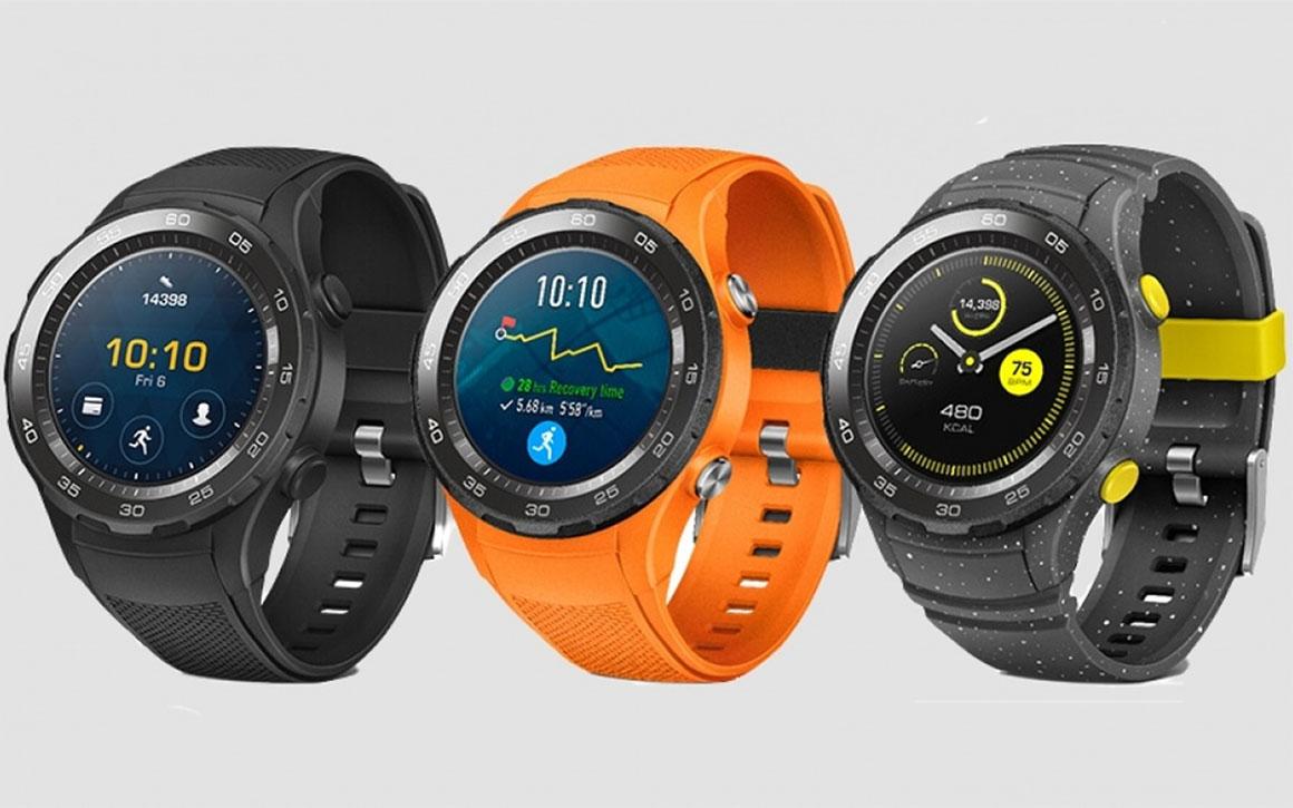 Huawei presenteert Watch 2 met Android Wear 2.0