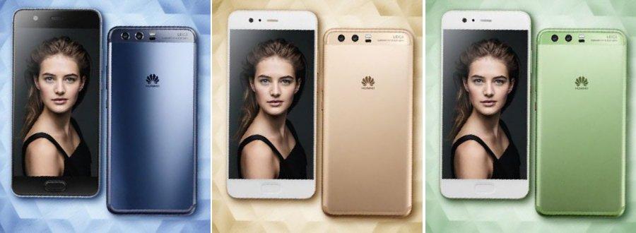 Huawei P10 foto's