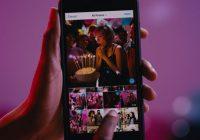 Zo maak je een album van tien foto's en video's in Instagram